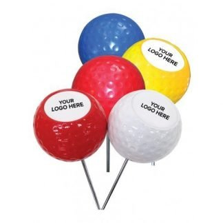 Golf Dimpled Tee Marker